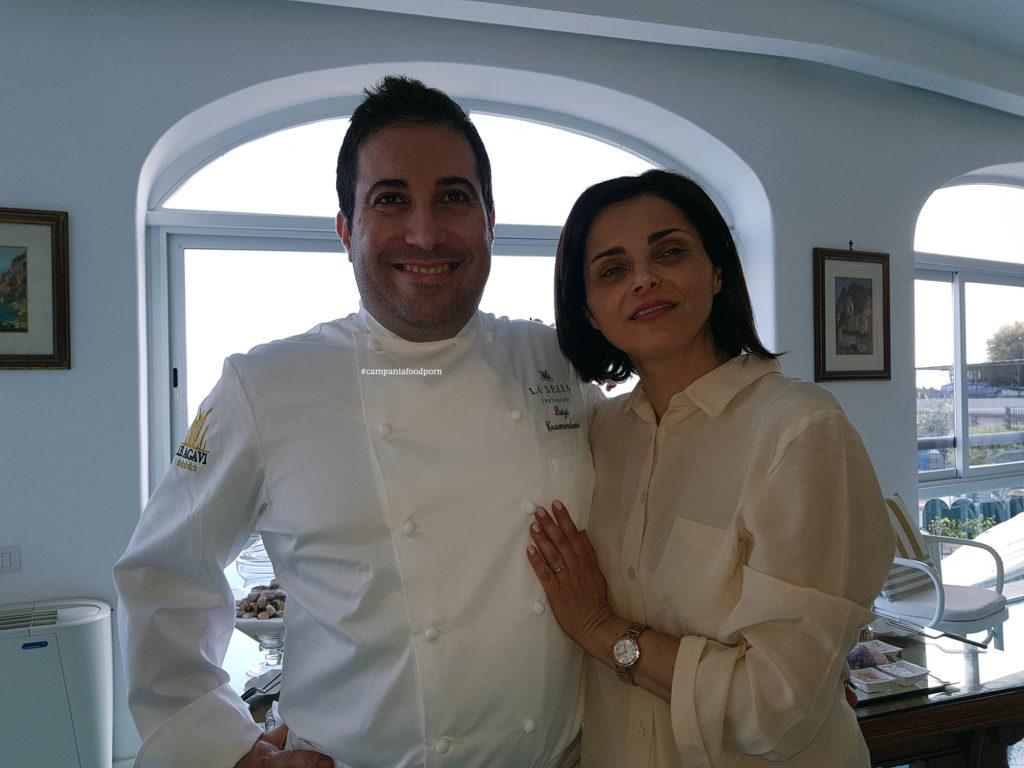 Luigi Tramontano e Nicoletta Gargiulo