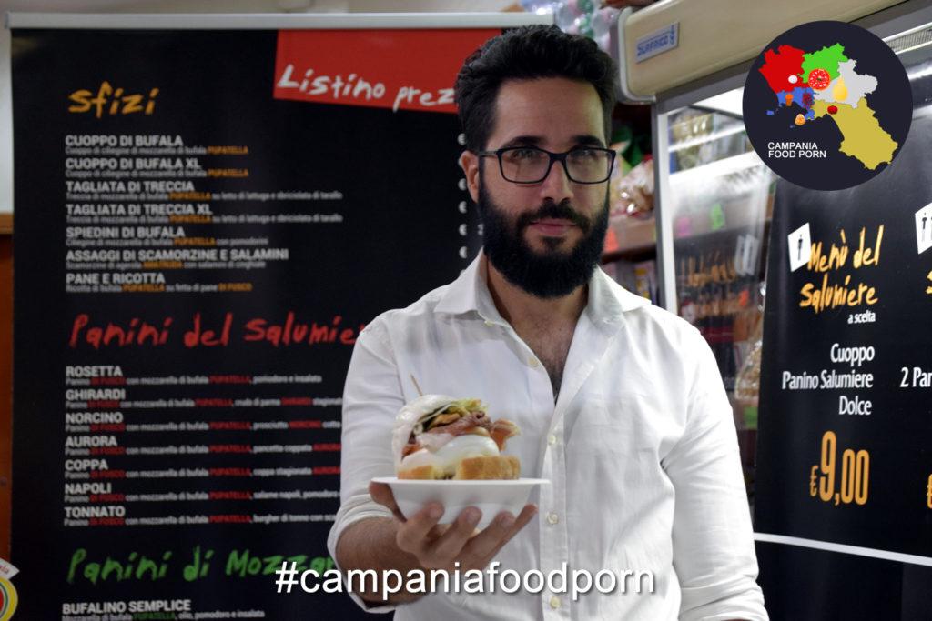 Luigi Fabrizio gestore di Pupatella Street, Napoli